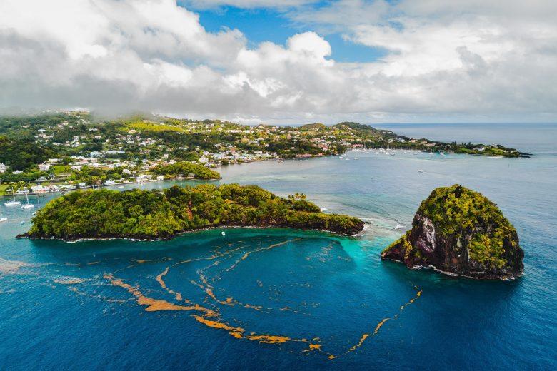 5 endroits à visiter en voilier dans les îles grenadines
